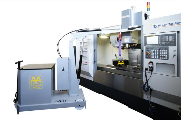 GZ1000BSE移動式吊車應用-吊掛CNC模具