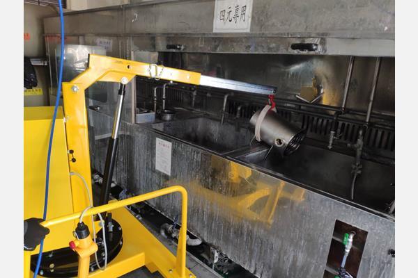 半導體、光電製程設備元件清洗機台用客製化移動式吊車 |寅發企業