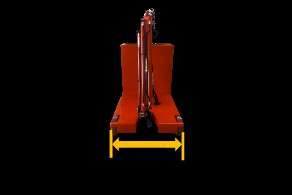 1000kg 易取放全電動吊車atlas 1TE3 - 窄車寬僅800mm