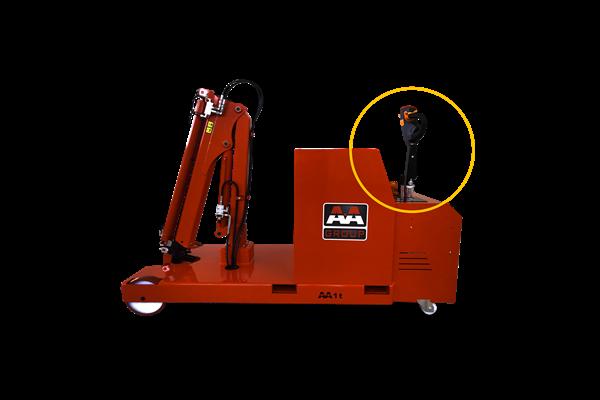 1000kg 易取放全電動吊車atlas 1TE3 - 電動移動