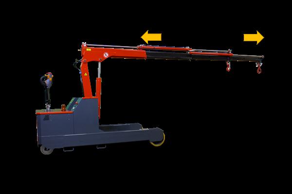 2000kg 易取放全電動吊車omnia 2T - 電動伸縮手臂