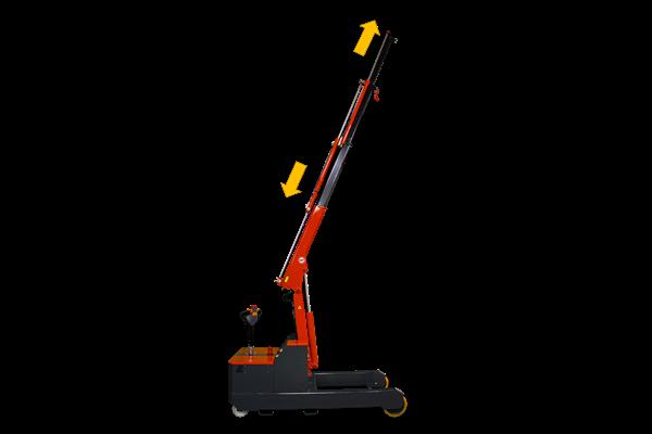 2000kg 易取放全電動吊車omnia 2T - 電動升降手臂