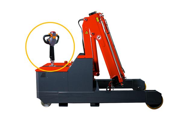 2000kg 易取放全電動吊車omnia 2T - 電動移動