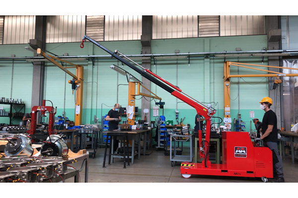 ATLAS 1TE3 1000kg移動式天車,移動式小吊車